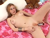 Blonde Babe First Time Dildo Fuck Tube Video