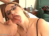 Blonde Babe Body Stocking, Oral Sex Pussy Fucking sex video