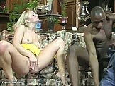 Hot Blonde Pussy Fingering Huge Cock Interracial Fucking Sex video